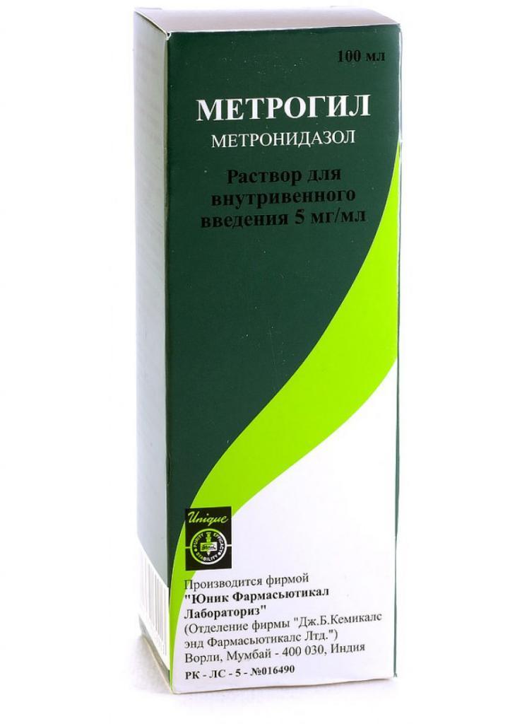 метронидазол капельницы для лечения хронической трихомонады