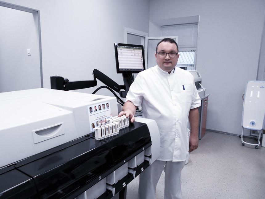 количественная постановка ПЦР в лаборатории