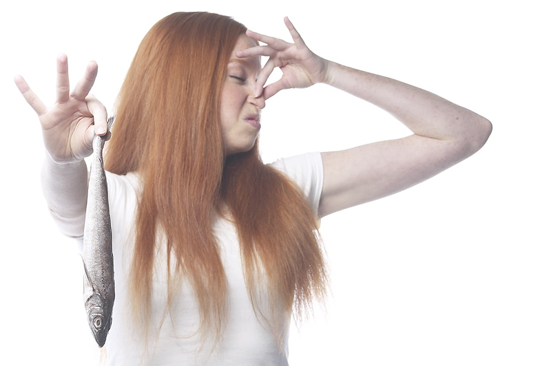 Секс пахнет потом и рыбой