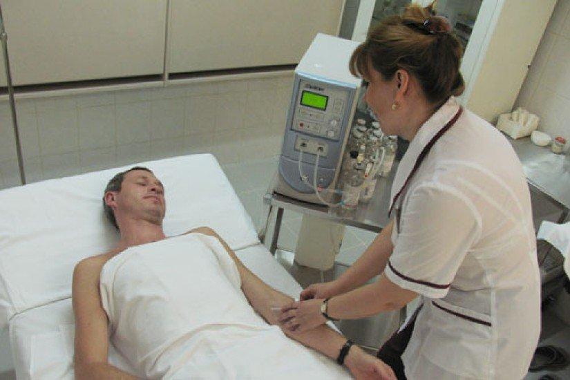 озонотерапия при простатитах